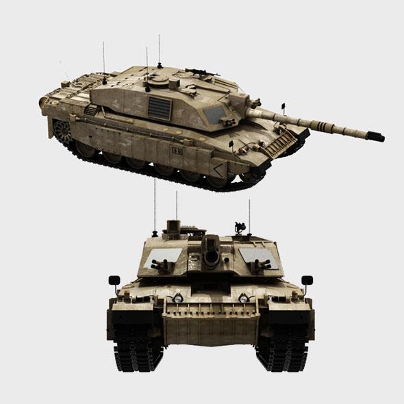 3DOcean tank 3D model 20480155