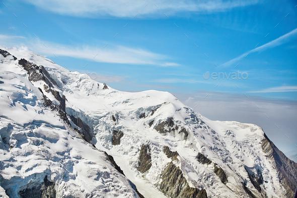 Chamonix Mont Blanc Massif - Stock Photo - Images