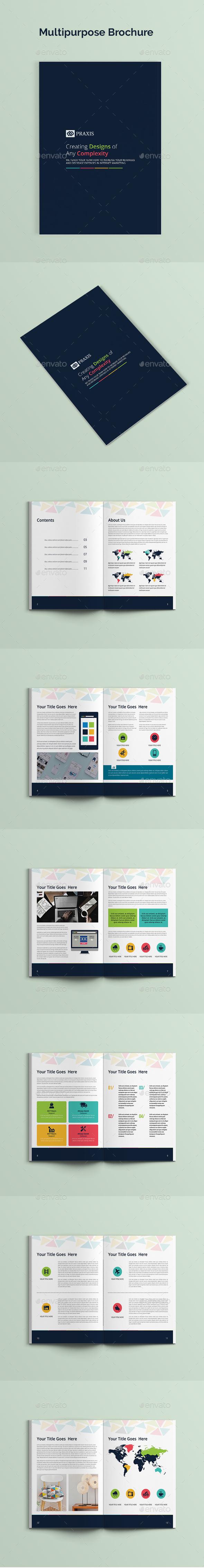 GraphicRiver Multipurpose Brochure 20480488