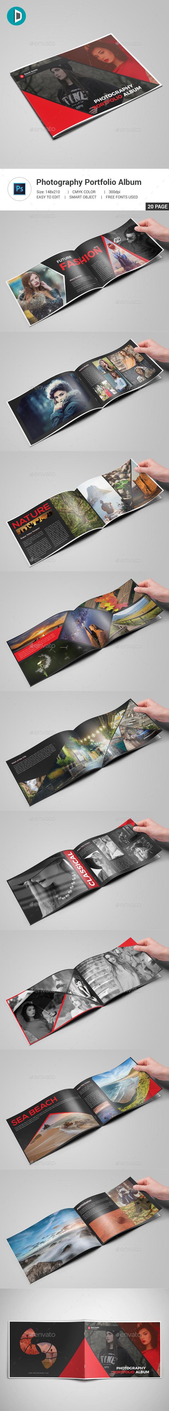 GraphicRiver Photography Portfolio Album 20480490