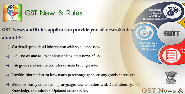 CodeCanyon GST News & Rules Application for Inventory & Billing Software 20480990