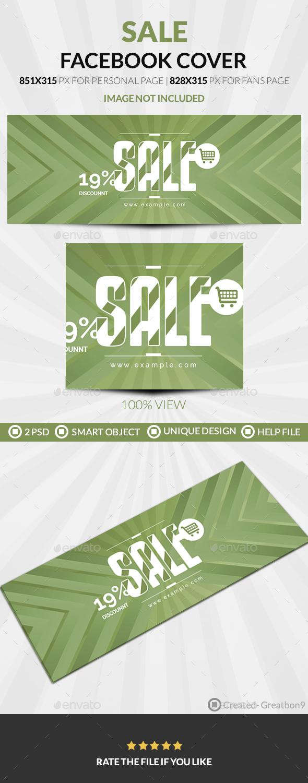 Sale Facebook Cover