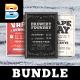 Vape Event Flyer Bundle - GraphicRiver Item for Sale