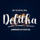 Delitha Scirpt - GraphicRiver Item for Sale