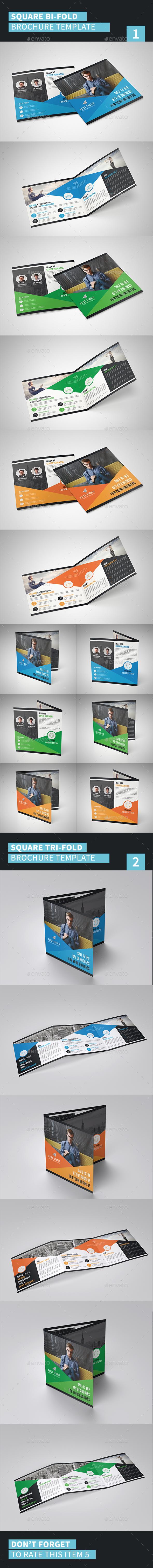 Square Brochure Bundle - Corporate Brochures