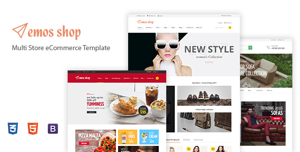 Image of Emos - Multi Store eCommerce Template