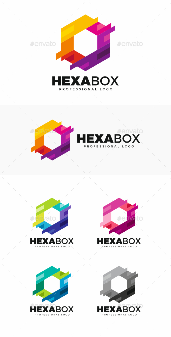GraphicRiver Hexagon Logo 20481683