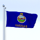 Animated Kansas Flag - 3DOcean Item for Sale