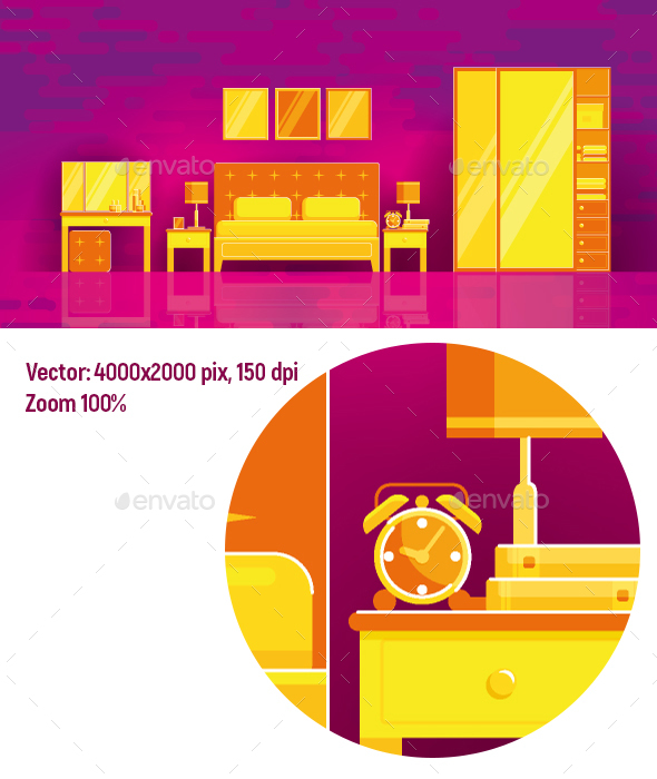 GraphicRiver Bedroom 20481954