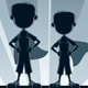 Super Boys Silhouettes - GraphicRiver Item for Sale