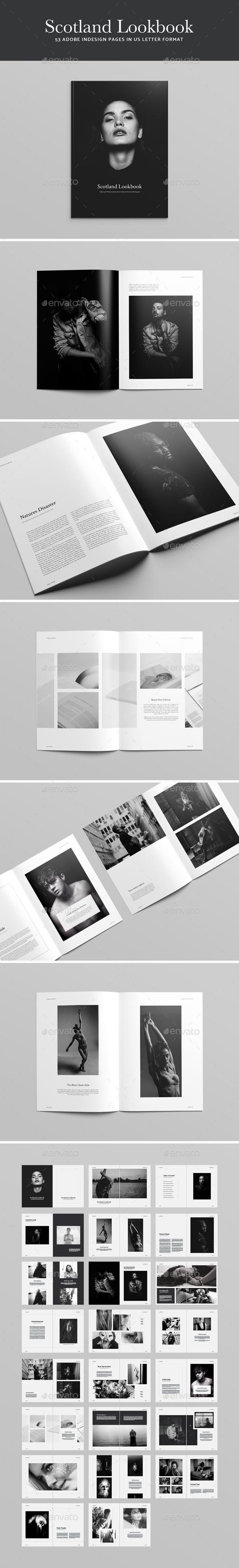 Scotland Lookbook - Magazines Print Templates