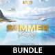 Summer Dj Party Bundle - GraphicRiver Item for Sale