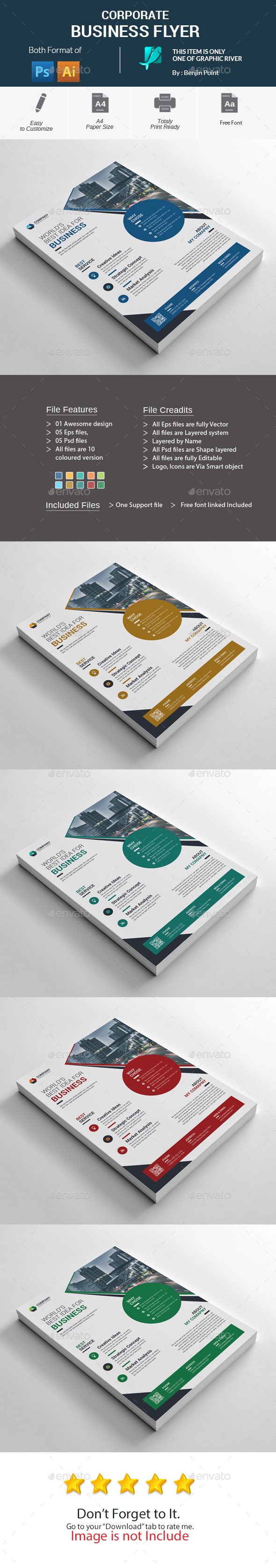 GraphicRiver Corporate Business Flyer 20482080