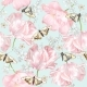 Tulip Butterfly Pattern - GraphicRiver Item for Sale