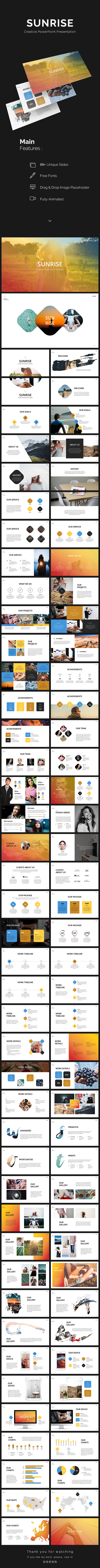 Sunrise PowerPoint Presentation - PowerPoint Templates Presentation Templates