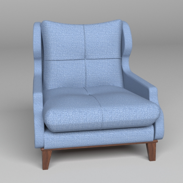 3DOcean Devorative Armchair 2 20482214