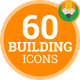 Construction Building Architecture Industry Animation - Flat Icons and Elements