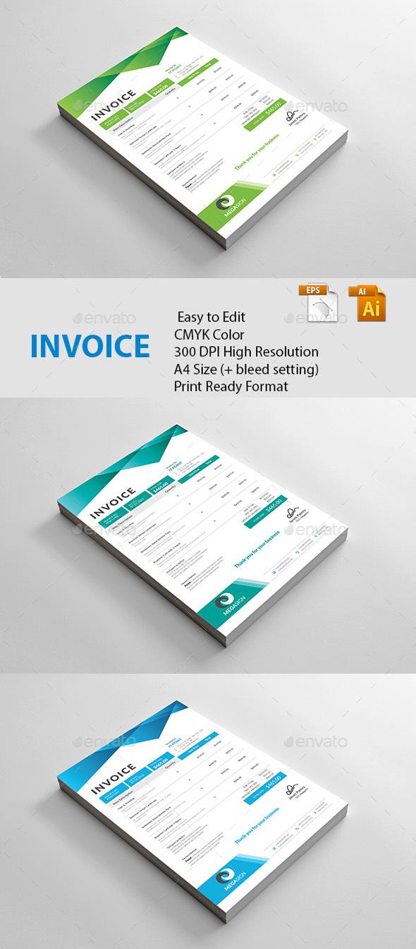 GraphicRiver Invoice 20482376