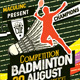 Badminton Competition Flyer/Poster
