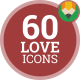 Wedding Love Heart Bride Animation - Flat Icons and Elements