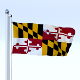 Animated Maryland Flag - 3DOcean Item for Sale