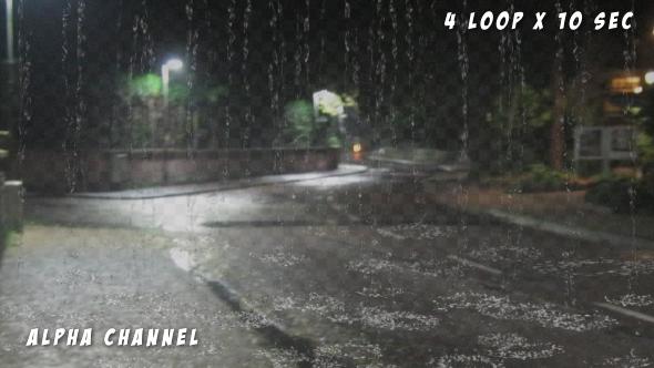 Rain Fall Mix Loop