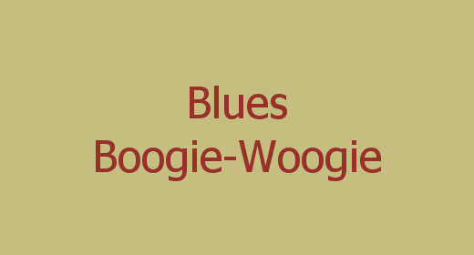 Blues, Boogie-Woogie