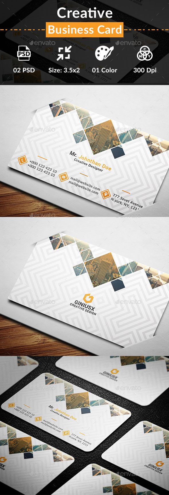 GraphicRiver Creative Business Card 20482669