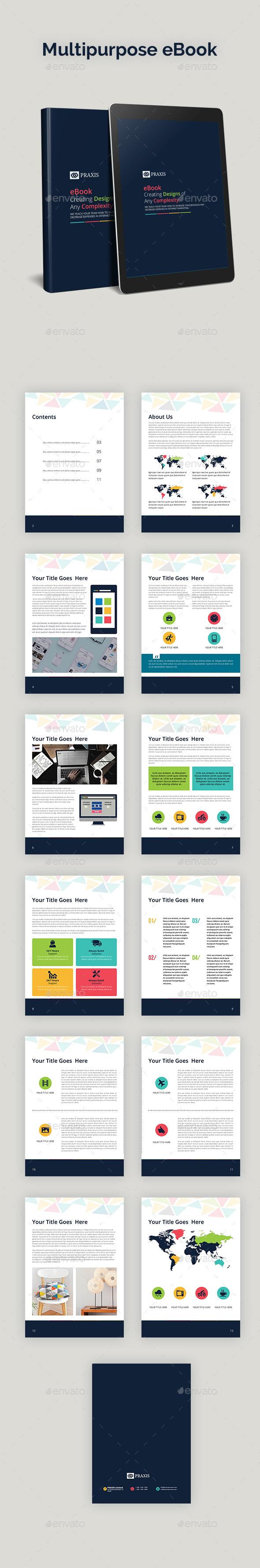 Multipurpose eBook - ePublishing