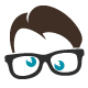 Glasses Nerd Buzz Logo - GraphicRiver Item for Sale