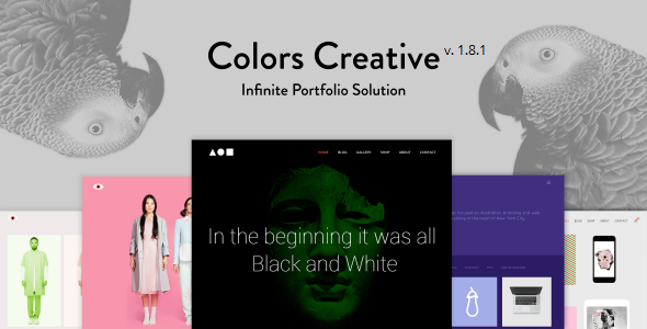 Colors Creative – Portfolio for Freelancers & Agencies - Portfolio Creative
