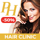 ProHair | Hair Loss Clinic & Cosmetology - ThemeForest Item for Sale