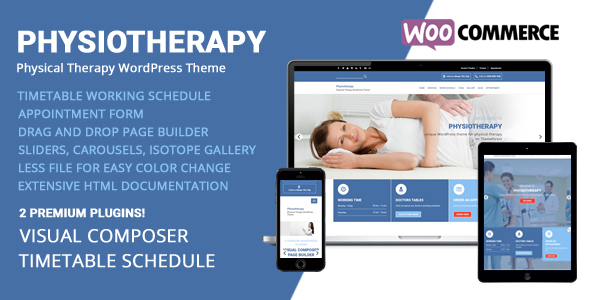 Physiotherapy - Physical Therapy WordPress Theme - Health & Beauty Retail