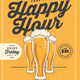 Happy Hour Beer Flyer - GraphicRiver Item for Sale