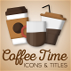 Coffee Time Motion Icons & Titles
