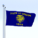 Animated Oregon Flag