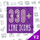 Line Icons Pack 330 Animated Line Icons - VideoHive Item for Sale