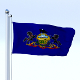 Animated Pennsylvania Flag
