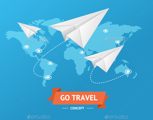 GraphicRiver Go Travel Concept 20483724