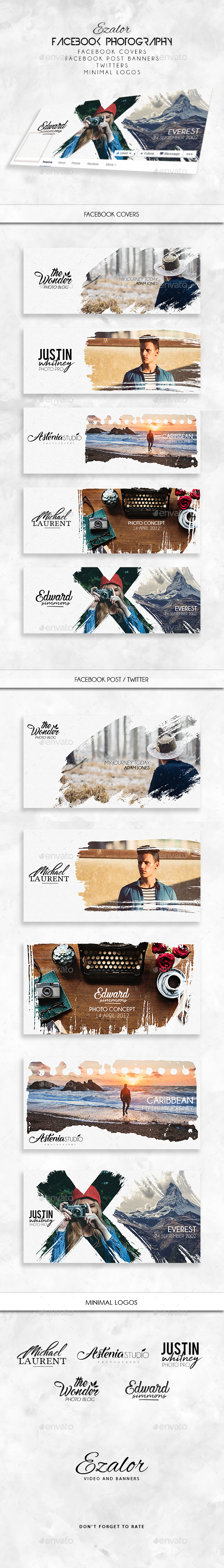 GraphicRiver Facebook Photography Set 20483742