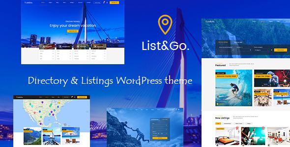 ListGo - Directory WordPress Theme