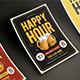 Happy Hour Beer Promotion Flyer / Poster 02