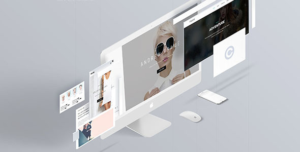 ThemeForest Frame Creative Portfolio Template 20354794