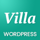 Villa - WordPress  Bed & Breakfast Landing Page