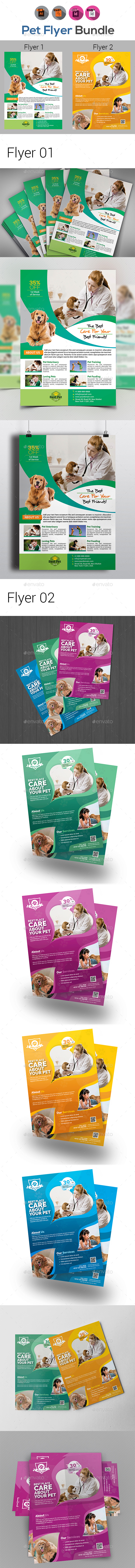 Pets Care Flyer Templates - Corporate Flyers