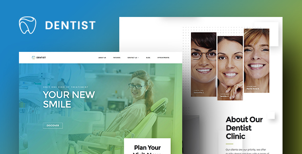 Image of Dentist WordPress Theme | Dentist WP