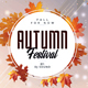 Autumn Festival - PSD Flyer Template - GraphicRiver Item for Sale