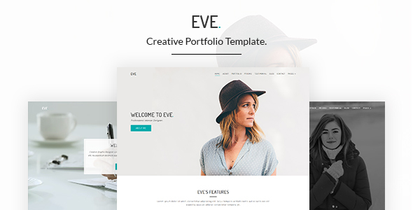 Eve – Creative Portfolio HTML5 Template
