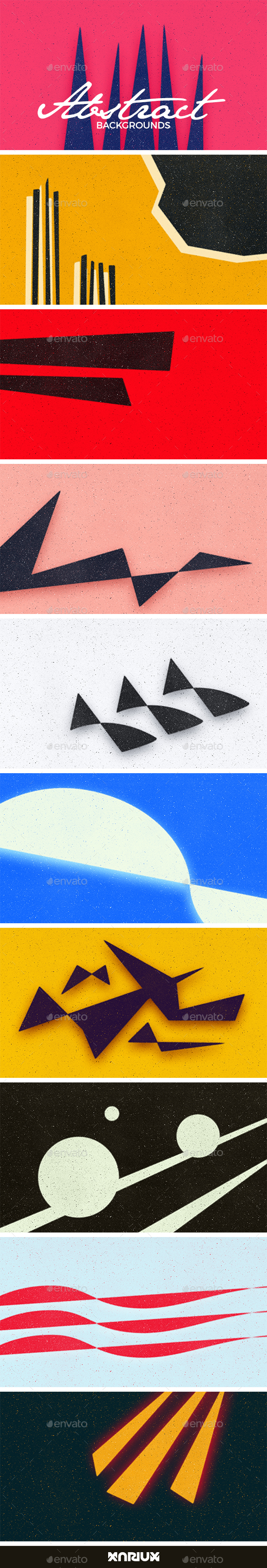 GraphicRiver Abstract Backgrounds 20484817