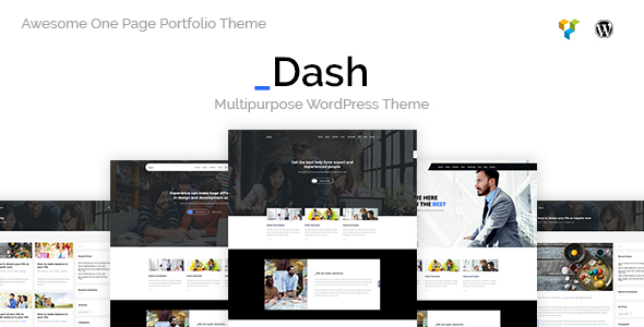 Dash - Creative Business Theme - Creative WordPress